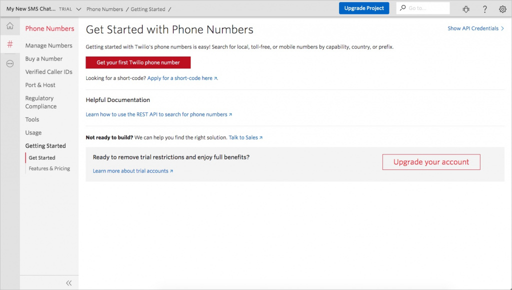 Twilio Phone Numbers